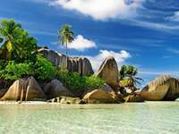 Seychelles dans l'Océan Indien - Seychelles, Seychelles, Sesel est une nation insulaire de l'océan Indien, située à environ 1