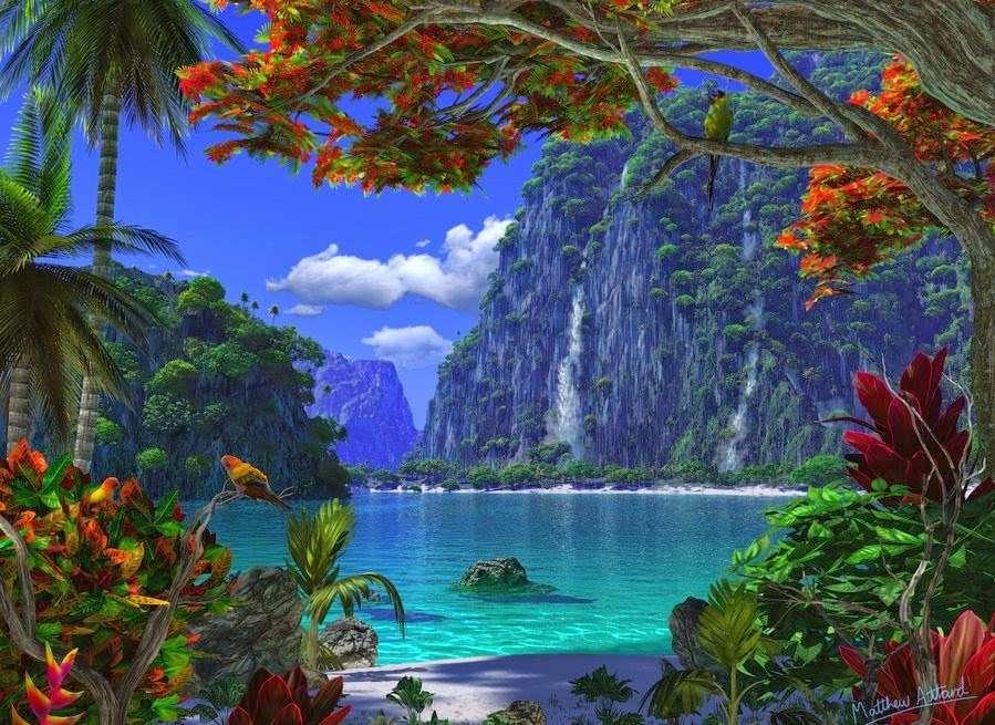 paysage paradisiaque