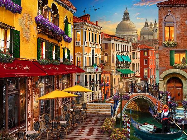 Βενετία - Ευρώπη. Ιταλία. Βενετία (10×10)