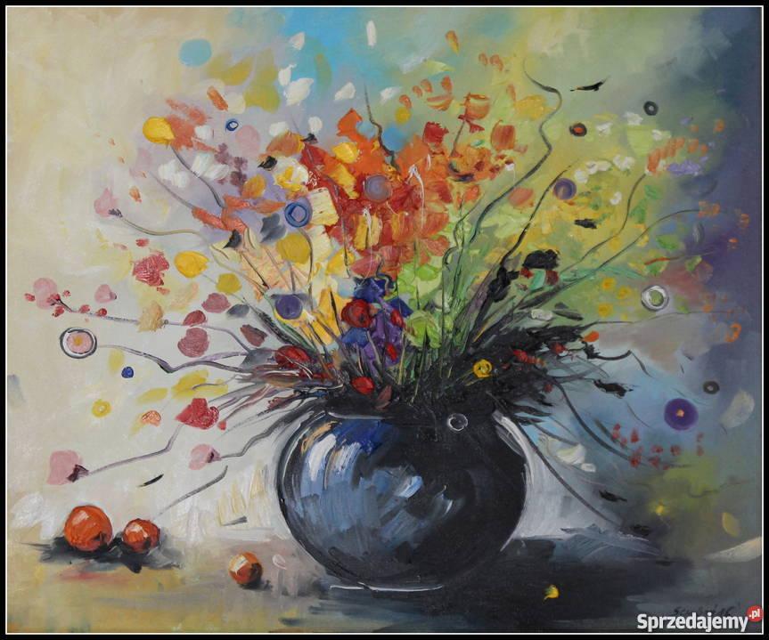 Váza virággal - Nyári váza virágokkal (14×14)