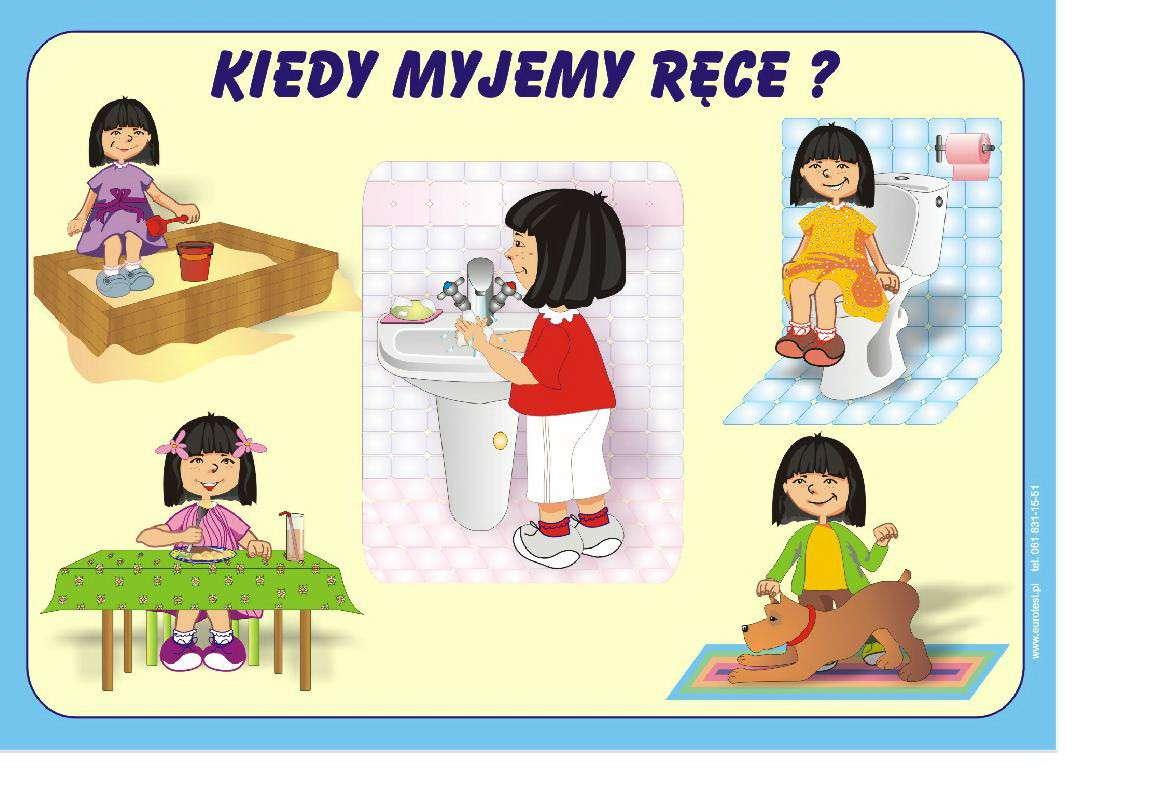 kinderkanker hygiëne - puzzel voor kinderen hygiëne kanker (5×5)