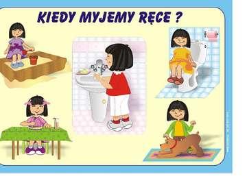 hygiene of children's cancer - puzzles for children hygiene cancer