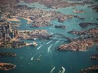 Sydney, Austrália - Sydney, Austrália. Sydney é um importante centro financeiro, comercial, de transporte, cultural e