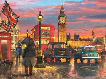 London landscape. - London landscape.