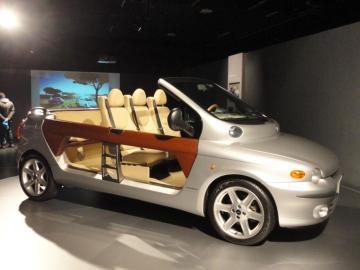 Multipla - Fiat Multipla Cabrio - przeróbka