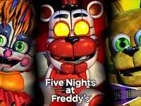 FNAF 6 jucării moi
