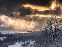 Bieszczady - afwijkingen in het winterweer in het Bieszczady-gebergte
