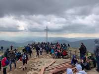 bieszczady - hermosas vistas desde Tarnica, el pico más alto de las montañas de Bieszczady
