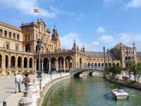 Spaans plein - Spaans plein in Sevilla