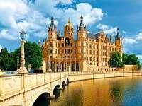 Schwerin kastély. - Egy bájos kastély Schwerinben.