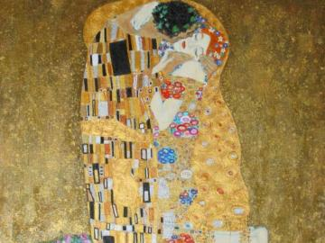 pocałunek - Gustave Klimt to piękny obraz
