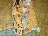 el beso - Gustave Klimt una hermosa foto