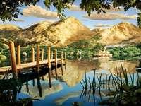 Vedere fabuloasă, lac moraine, mâncare - Vacanță, vizitarea obiectivelor turistice, petrecere a timpului liber, vacanță, lac moraine