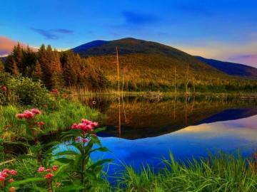 Czy tojezioro morenowe - Urlop, zwiedzanie , wypoczynek , wakacje,jezioro morenowe. Jezioro morenowe piękne