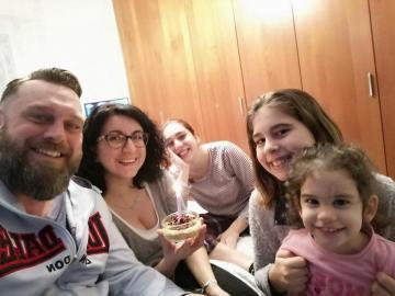 foto de familia - nuestra familia todos juntos