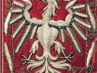 Emblema del águila. - Emblema bordado águila realizado por Anna Jagielonka.