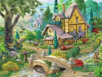 Kolorowy obrazek. - Kolorowy  krajobraz!!!