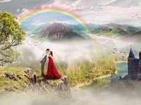 В любовта и дъгата - Дъга - оптичен и метеорологичен феномен, възникващ под