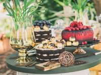 Beautiful cakes - Beautiful and delicious cakes in a beautiful arrangement