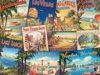 Αμερικανικές καρτ-ποστάλ. - Αμερικανικές καρτ-ποστάλ.