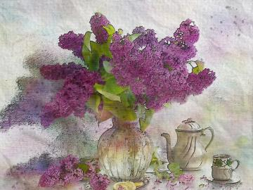 Bukiet bzu - Białe, kremowe do różowawych lub żółtawe, obupłciowe, charakteryzujące się mdłym zapachem.