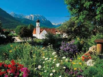 Bavarian Alps. - Mountains. Bavarian Alps.