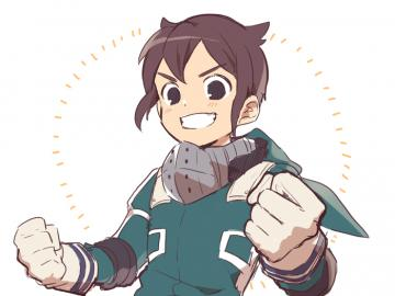 mark evans inazuma eleven - mark evans in the décoration costume