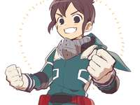 mark evans inazuma onze - mark evans no traje do deku