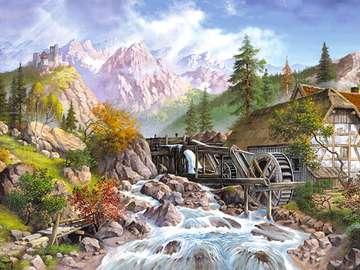 paysage - Peinture de paysage.