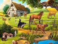 Селски пейзаж.
