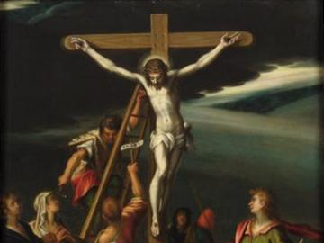 crucifixion - picture of the painter Hans von Aachen