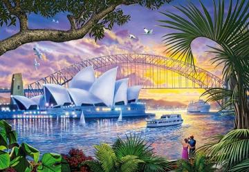 Australia. - Australia. Sydney Opera House. Jigsaw puzzles, games and puzzles. A puzzle game for everyone.