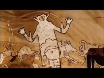 Tuareg z Algierii - przeszłość na skałach
