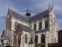 gothic church in aalst