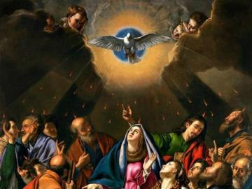 Descente du Saint-Esprit - Image de la Pentecôte