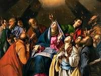 Descenso del Espíritu Santo - Imagen de Pentecostés