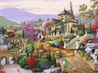 Rural residence. - Puzzle: a country residence.