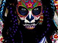 Face painting, Mexican art
