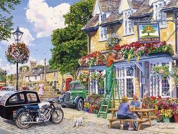 Piękna angielska wieś.
