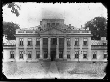 Belweder in Warsaw once - In the photo Belweder in Warsaw. That's what Belvedere once looked like in Warsaw. Belweder in