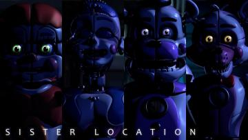 FNaF Schwester Location