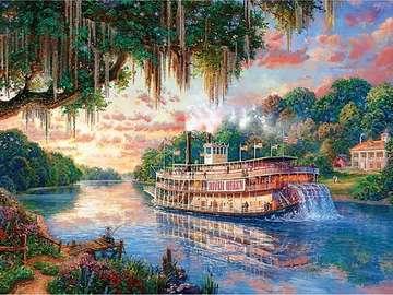 River Queen. - River Queen steamboat.