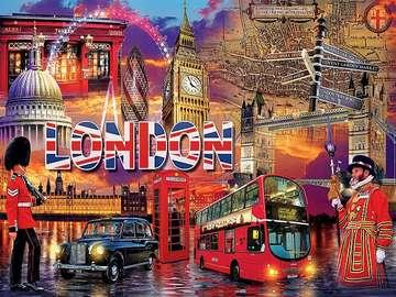 London puzzle. - Londyńska układanka