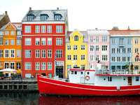 Dinamarca colorida - Dinamarca colorida, hermosos edificios