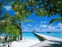 Maldivas - Belas vistas de férias