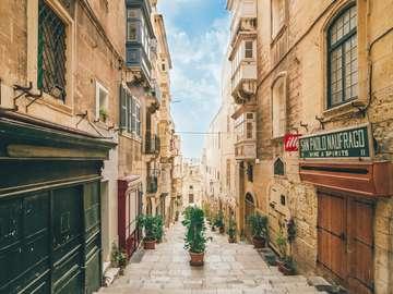 Malte, La Valette - Malte, La Valette - un endroit merveilleux. La Valette est la capitale administrative et maltaise si