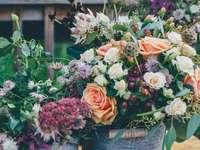 Virágok cserépben