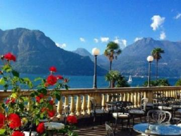 At Lake Como. - Europe. Italy. Lake Como.