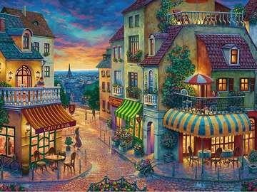 Romantic Paris. - Europe. Romantic Paris.