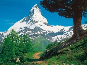 Matterhorn. - Switzerland. Matterhorn.